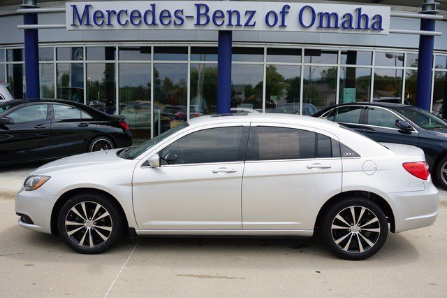 Pre owned 2012 chrysler 200 touring 4dr car in omaha for Mercedes benz of omaha used cars