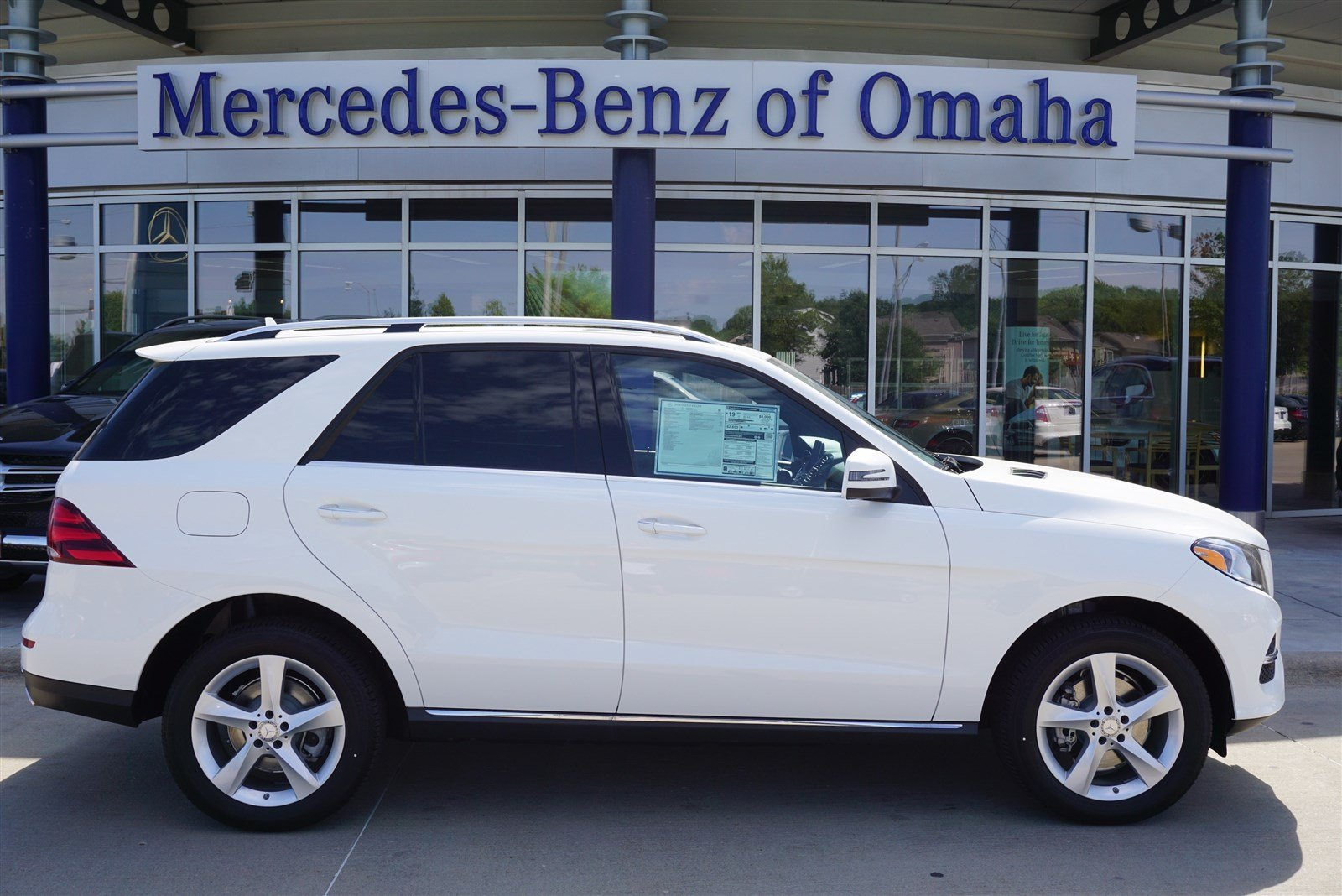 New 2016 mercedes benz gle gle350 sport utility in omaha for Mercedes benz of omaha used cars
