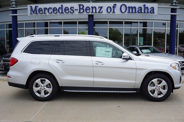 Pre owned 2017 mercedes benz gls gls 450 suv in omaha for Mercedes benz of omaha used cars