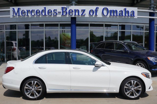 Pre owned 2016 mercedes benz c class c 300 4dr car in for Mercedes benz of omaha used cars