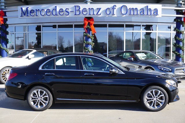 New 2017 mercedes benz c class c 300 sedan in omaha c1142 for Mercedes benz of omaha used cars