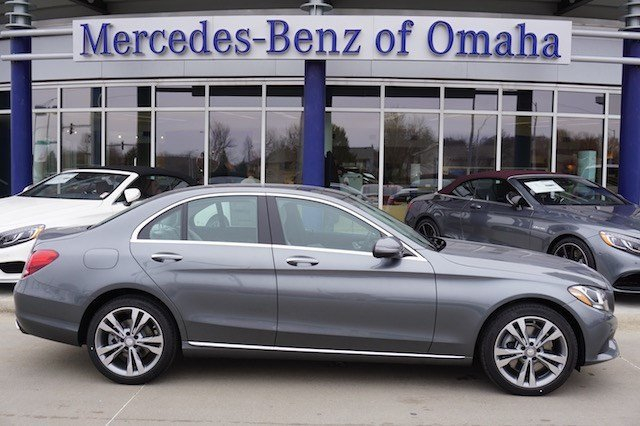 New 2017 mercedes benz c class c300 4dr car in omaha for Mercedes benz of omaha used cars