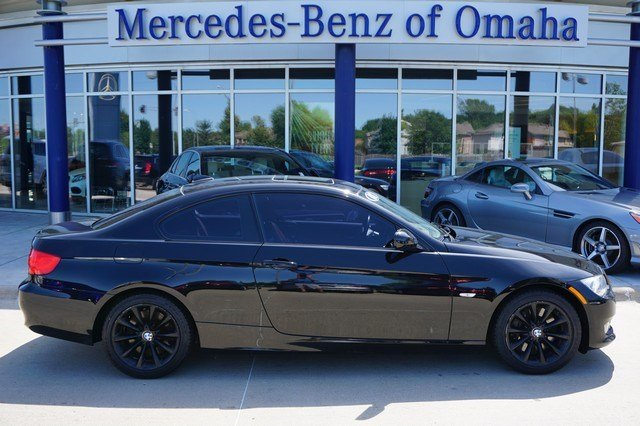 Pre owned 2011 bmw 3 series 335i xdrive 2dr car in omaha for Mercedes benz of omaha used cars