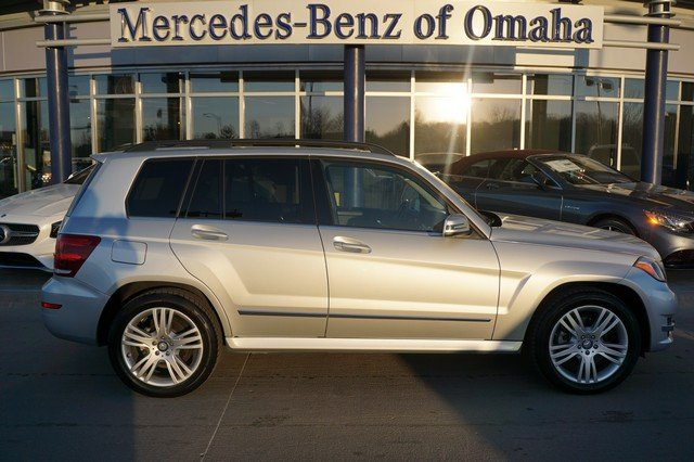Certified pre owned 2014 mercedes benz glk glk 350 sport for Mercedes benz of omaha used cars