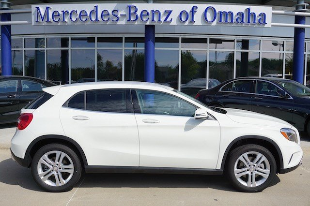 new 2017 mercedes benz gla gla250 4matic sport utility in omaha gla245 mercedes benz of omaha. Black Bedroom Furniture Sets. Home Design Ideas