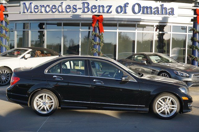 Certified pre owned 2013 mercedes benz c class 4dr sdn for Mercedes benz of omaha used cars