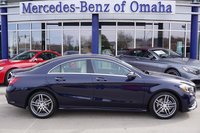 New 2017 mercedes benz cla cla 250 sport coupe in omaha for Mercedes benz cla 250 msrp