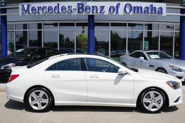 New 2016 mercedes benz cla cla250 coupe in omaha cla253 for Mercedes benz of omaha used cars
