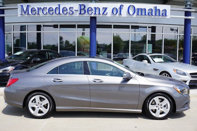 New 2016 mercedes benz cla cla250 coupe in omaha cla255 for Mercedes benz of omaha used cars