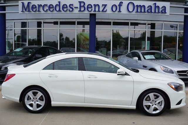 New 2016 mercedes benz cla cla250 coupe in omaha cla258 for Mercedes benz of omaha used cars