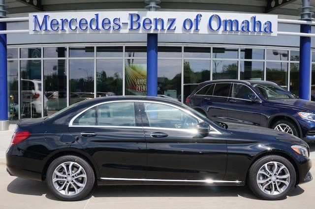 New 2016 mercedes benz c class c300 sedan in omaha c1048 for Mercedes benz of omaha used cars