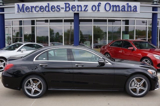 New 2016 mercedes benz c class c300 4dr car in omaha for Mercedes benz of omaha used cars
