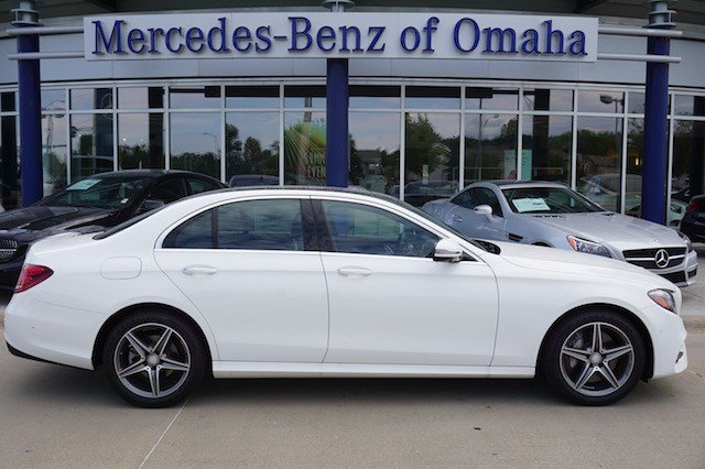 New 2017 mercedes benz e class e300 sport 4matic sedan 4dr for Mercedes benz of omaha used cars
