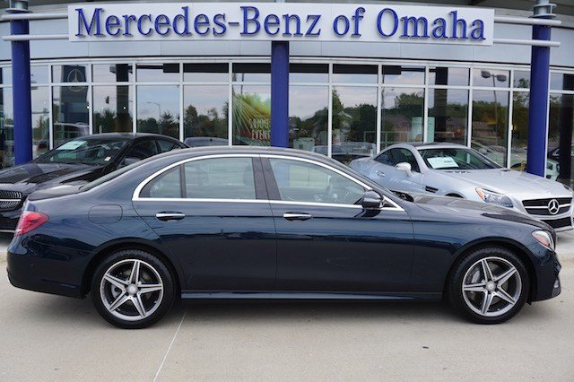 New 2017 mercedes benz e class 4dr car in omaha e789 for Mercedes benz of omaha used cars