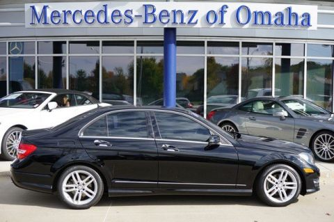 Certified pre owned 2012 mercedes benz c class c300 luxury for Mercedes benz of omaha used cars