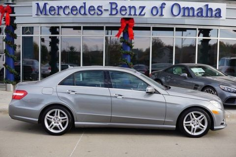 Certified pre owned 2012 mercedes benz e class 4dr sdn for Mercedes benz of omaha used cars